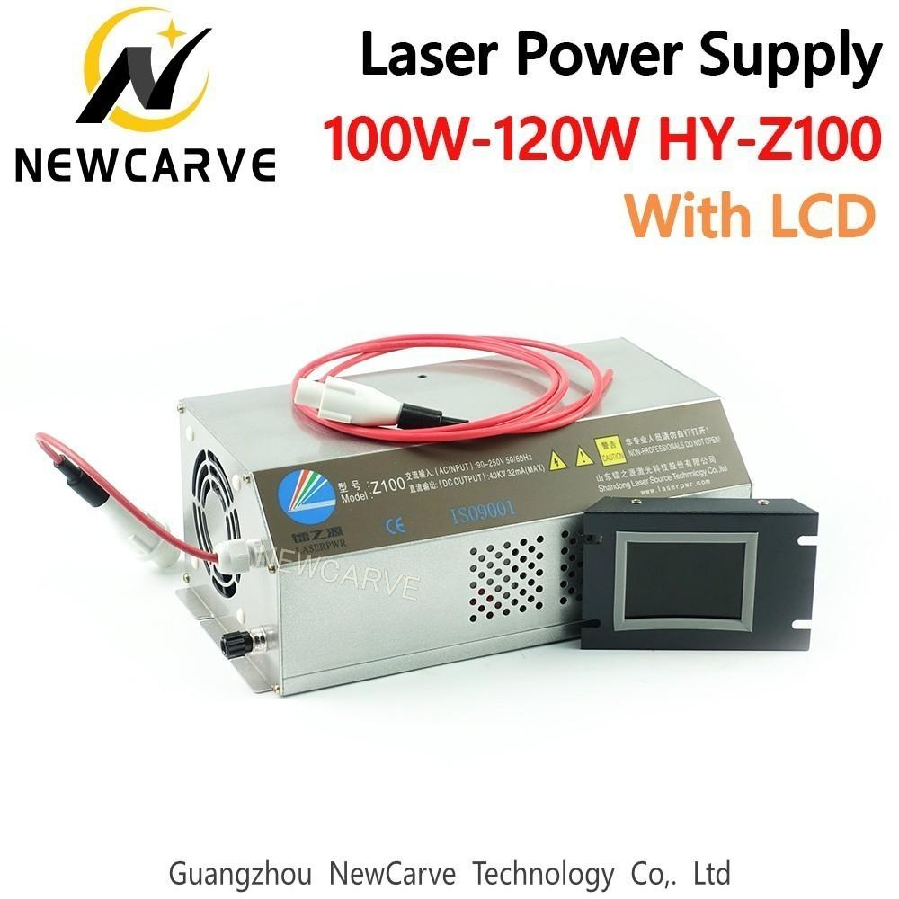 100W 120W CO2 Laser Power Supply Monitor AC90-250V For Laser Engraving Cutting Machine HY-Z100 Newcarve