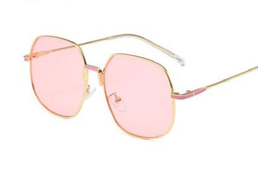 2698 óculos de sol para mulheres dos homens armação de metal Espelho polaroid Lentes motorista com vidros de sol casos marrom e caixa 009