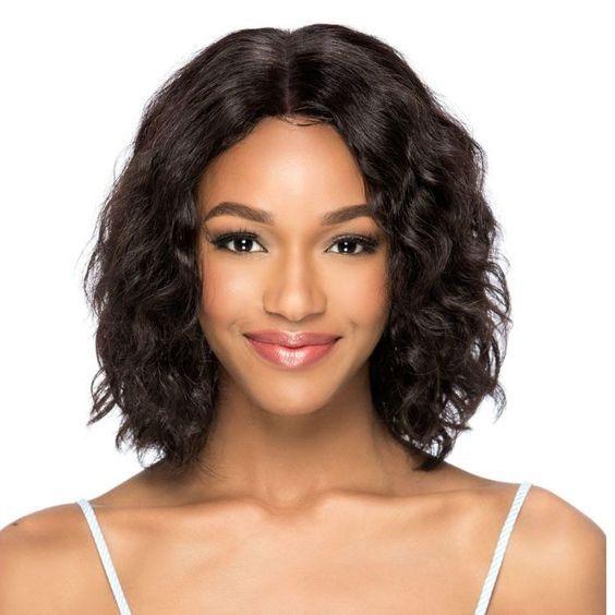 nuevo peinado corto bob ola peluca brasileña mujer afroamericana simulación pelo humano bob peluca rizada en stock