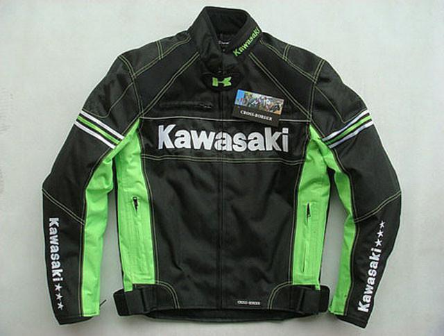 Nova Motocross Para jaqueta da Equipe Verde profissionais Motorcycle Racing jaquetas com equipamentos de proteção