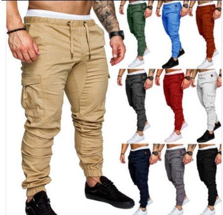 Pantaloni da lavoro da uomo Comfort Morbido Morbido TACTICO esercito Cargo Combat Casual Pantaloni per Bodybuilding Bodybuilding