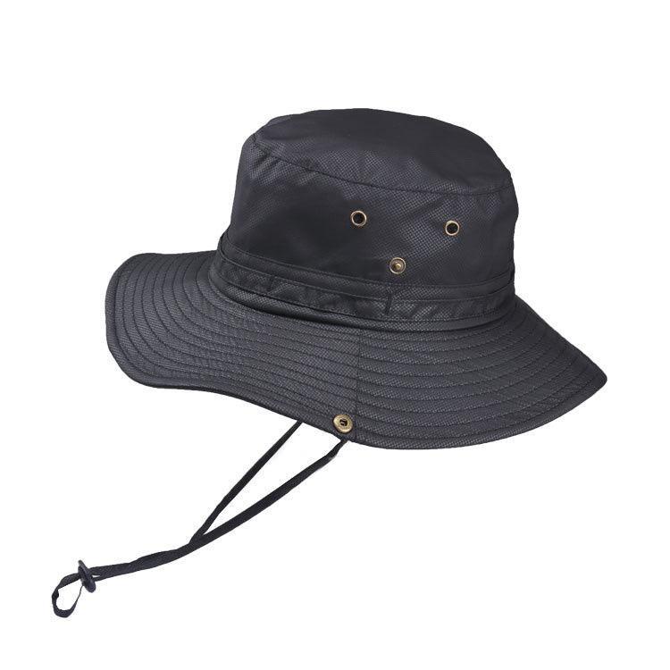 Askeri Safari Boonie Güneş Şapka Cap Yaz Erkekler Kadınlar Kamuflaj Kepçe Hat ile Dize Balıkçı Cap