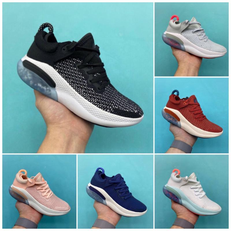 Nike JOYRIDE RUN FK 2020 bambini scarpe da corsa per bambini Tripla Nero Bianco in esecuzione dimensione sportiva vapori des chaussures Utility 28-35