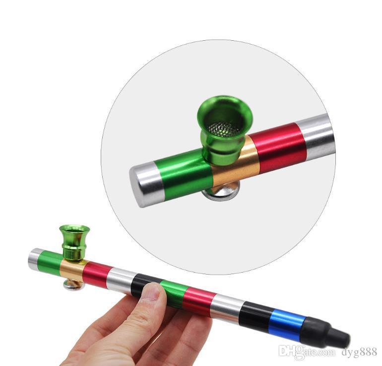 Металлическая труба Портативный цветной трубный фильтр