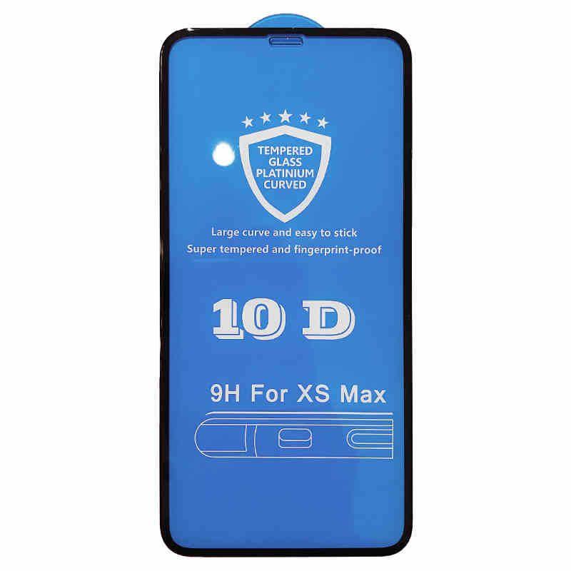 Verre trempé pour iPhone 11ProMAX / 11Pro / 11 Téléphone Steel Film 10D iPhone XSMax XR XS / X 6/7/8 Plus Plein écran Film de protection