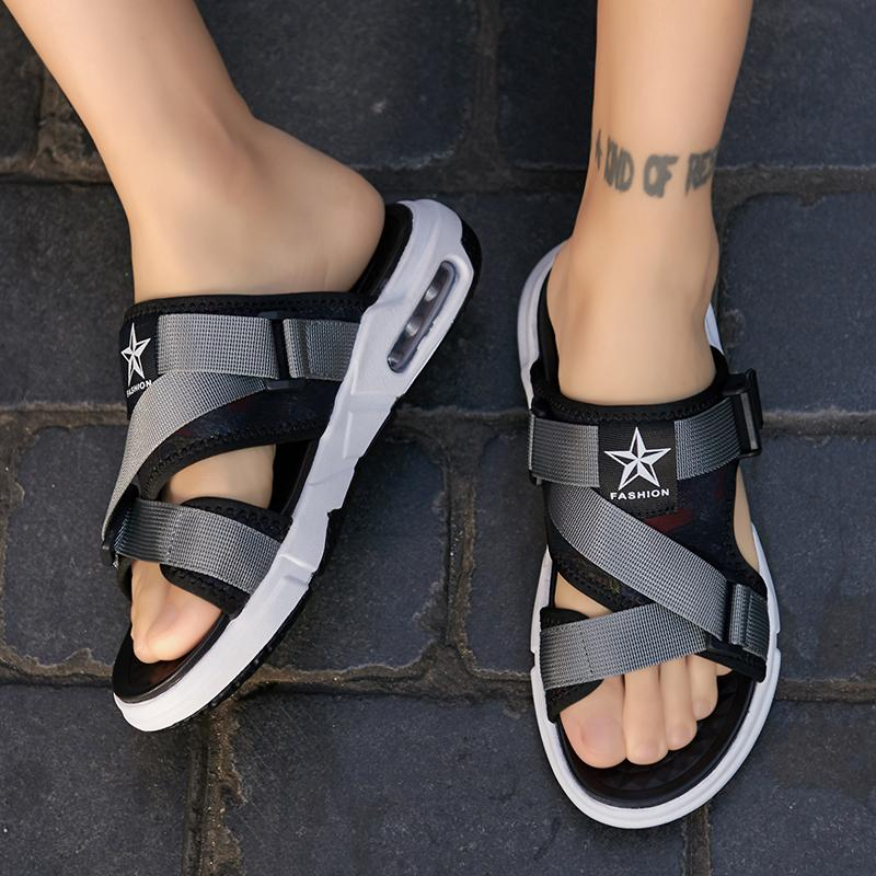Chinelos Homem Sandalle de Homme Zandalias Sandalet Rasteira Masculina Hombre SandálisLippers 2021 Vietnã Roman Transpirables Para Sapatos