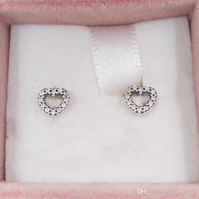 Des goujons en argent sterling authentiques 925 convient aux bijoux de style pandora européen 18