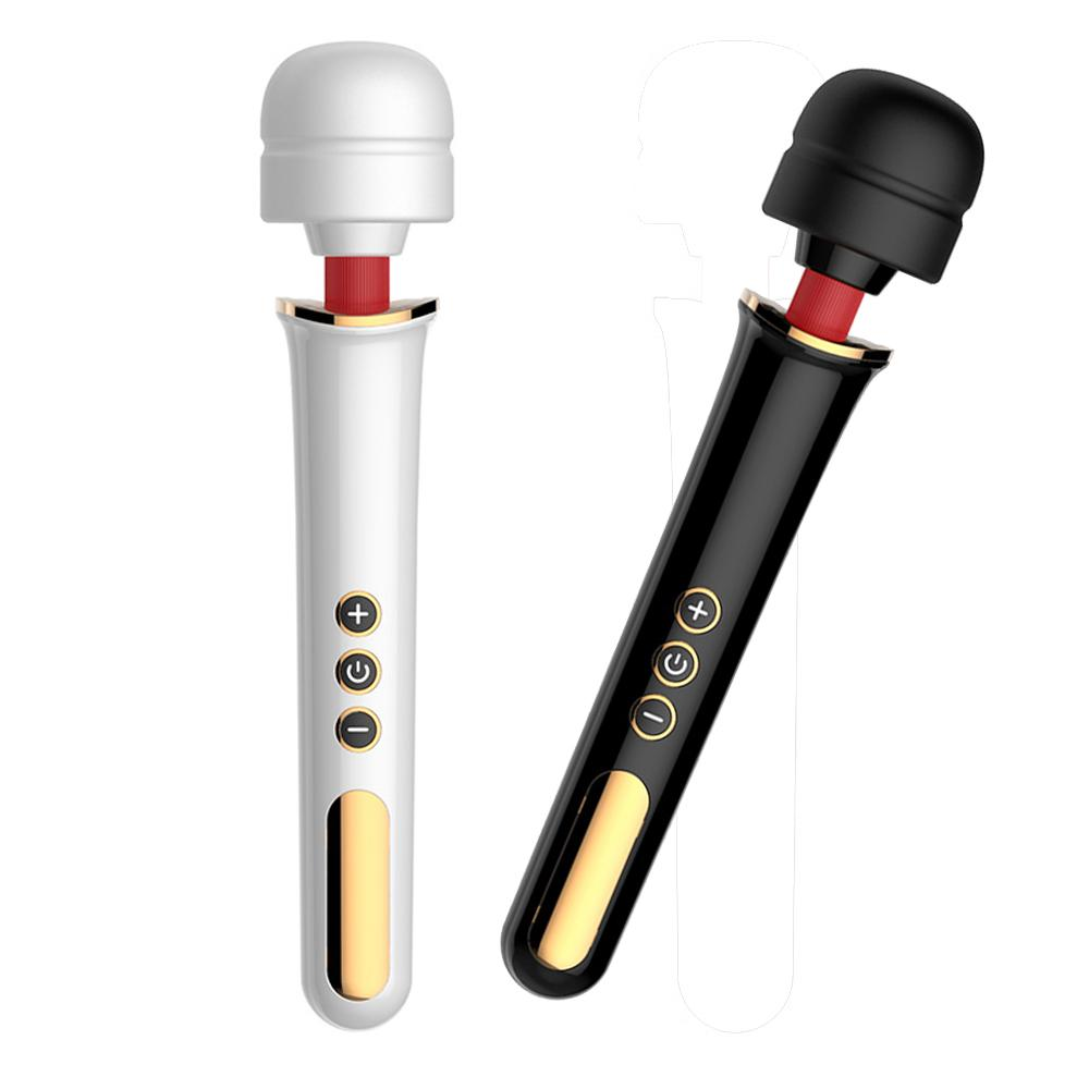 New Super Powerful 5 Speed 10 Frequency Vibration G-spot Av Wand Sex Toys,magic Wand Massager Vibrators Sex Products For Woman J190629