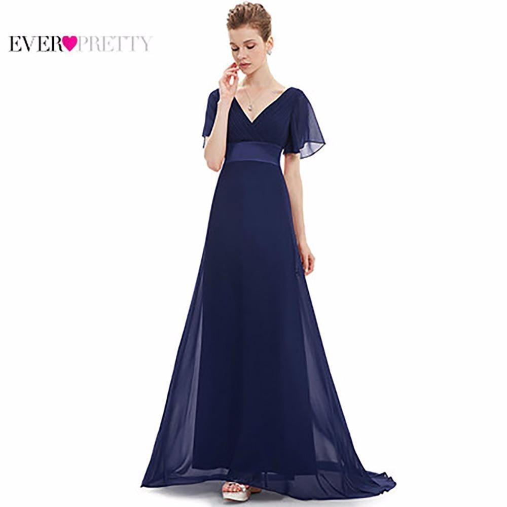 Großhandel Abendkleider Ep10 Gepolsterte Nachlaufende Flattern Ärmel  Lange Frauen Kleid 10 New Chiffon Sommer Stil Kleider Für Besondere  Anlässe