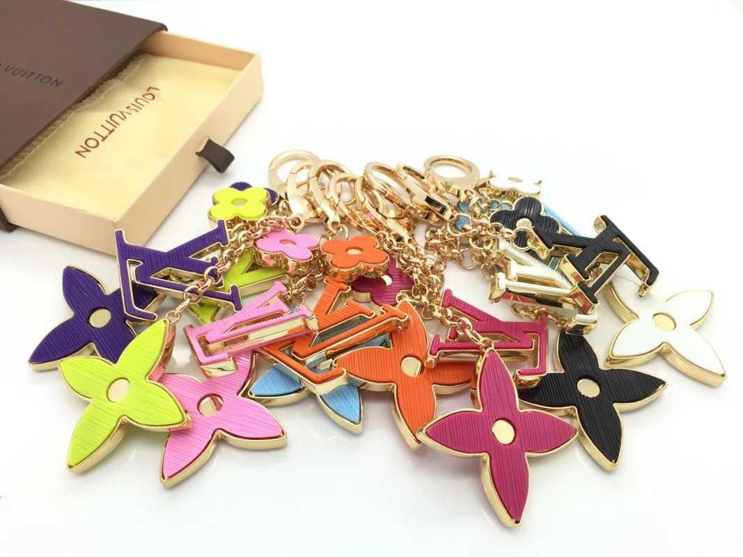 2019 Gift KEY HOLDERS CHARMS MORE TAPAGE BAG CHARM KEY HOLDERS BAG CHARMS ENVELOPPE BAG Leather Lanyard Keychains