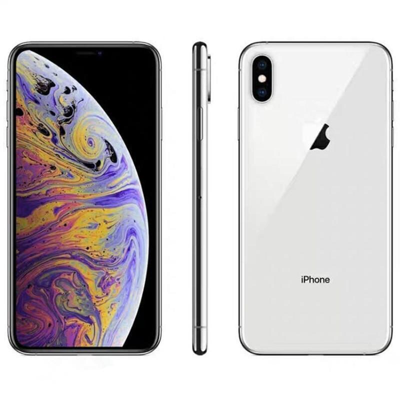 "Recuperado de Apple iPhone XS max Com Face ID 6.5"" RAM 4GB ROM 64GB / 256GB Original Celular LTE Hexa núcleo 12MP + 12MP IOS12"