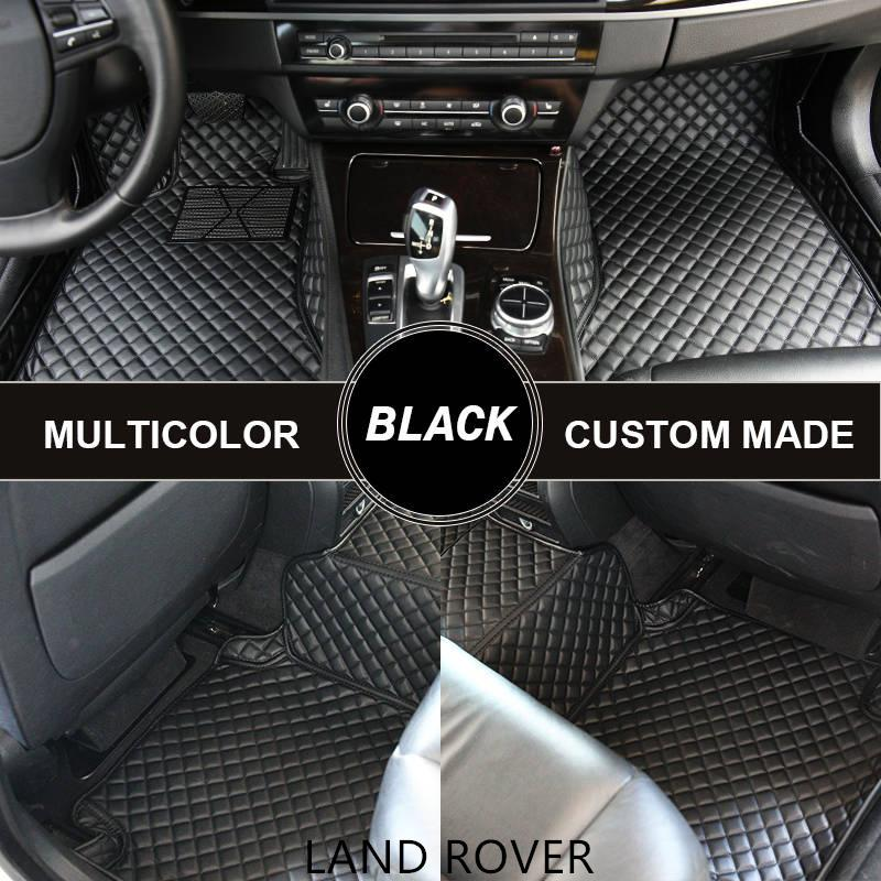 Custom Car Fußmatten für Land Rover Discovery 3 Range Rover Sport Evoque Automatten Alfombras Coche Alfombrilla Coche