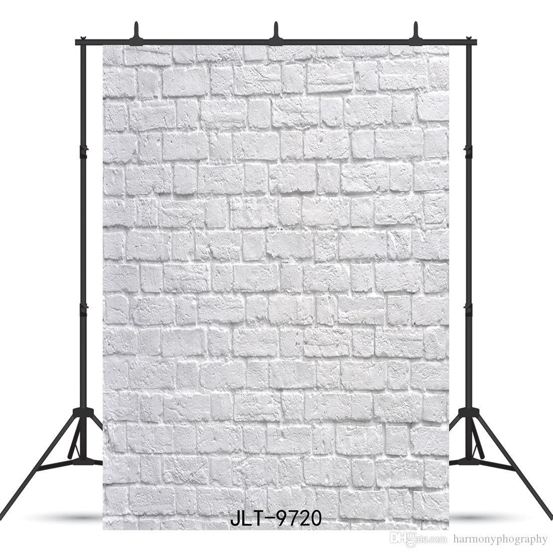 carte briques blanches fond photographie vinyle pour bébé douche enfant portrait nouveau né toile de fond studio photo photocall