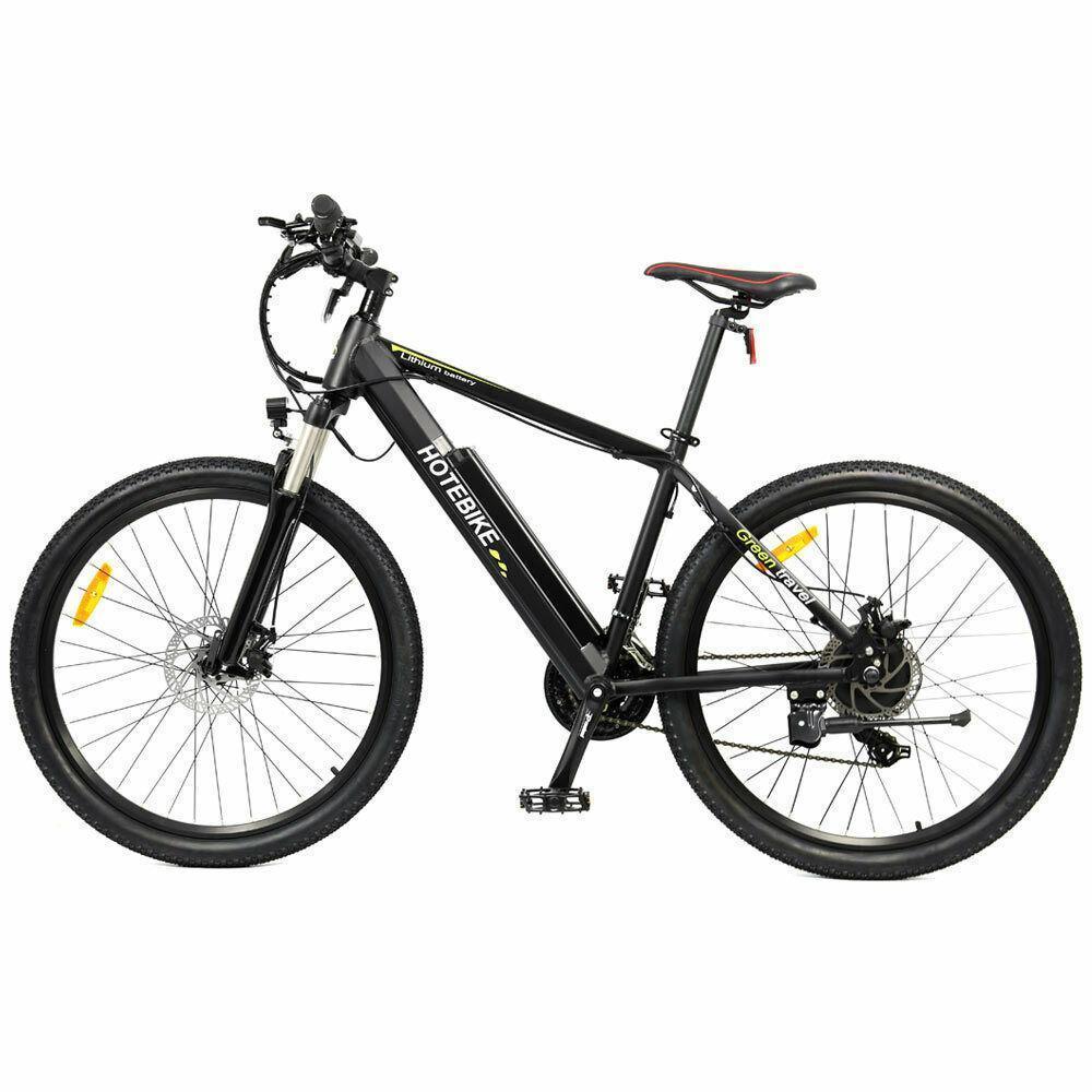 YENİ Elektrikli Bisiklet Dağ Şehir Bisikleti 48V 500W 26 inçlik eBike Gizli Pil