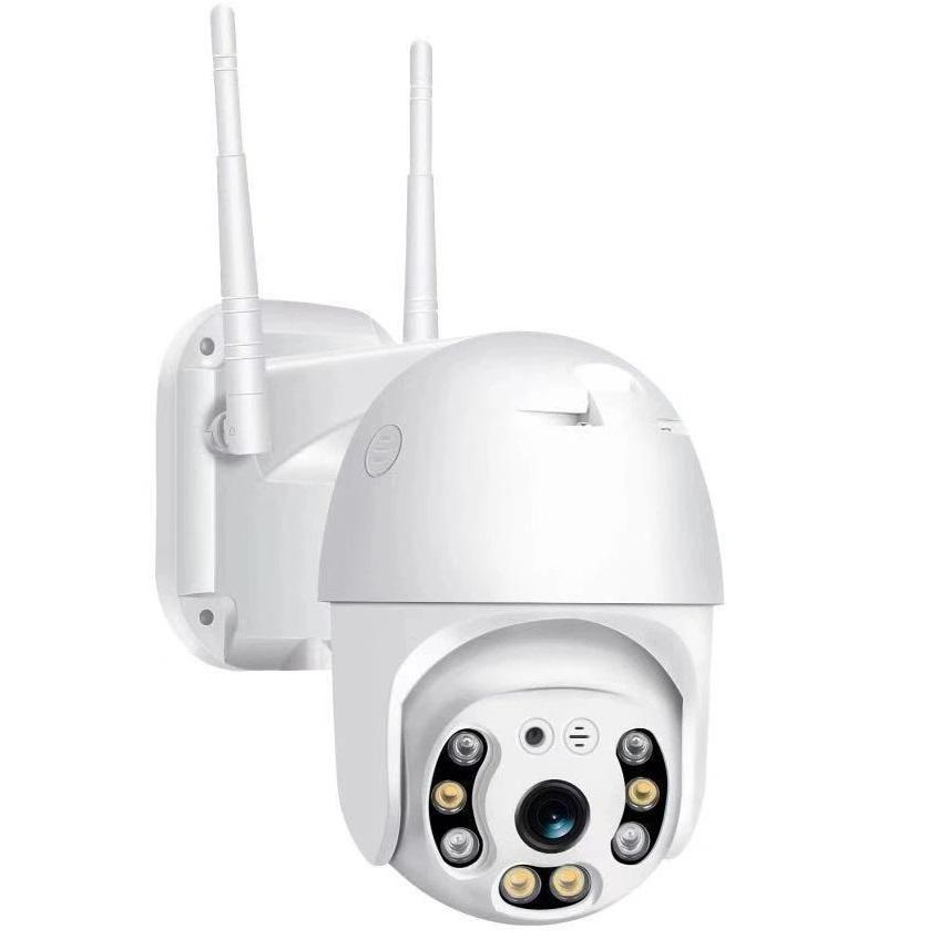 2019 WIFI Camera Outdoor PTZ IP Camera H.265+ 1080p Speed Dome CCTV Security Cameras IP Camera WIFI Exterior 2MP IR Home Surveilance