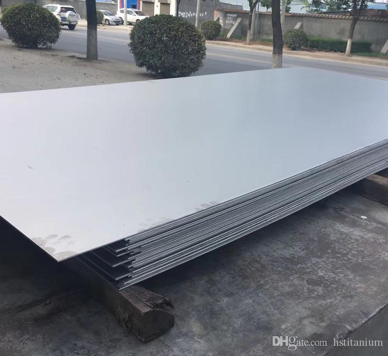 Fabricante de China placa de titanio / hoja de metal precio Venta al por mayor Promocional barato industria laminada en frío Gr1 hojas de titanio precio