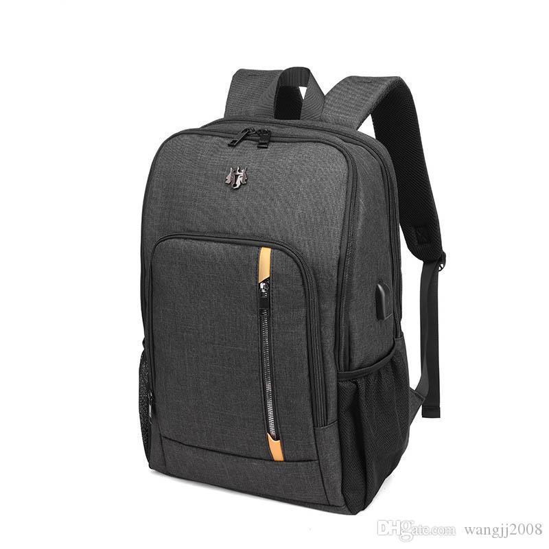15,6 pulgadas mochilas Multi-Función Mochila de gran capacidad Mochila para niños y niñas Mochila Mochila nueva tela Oxford