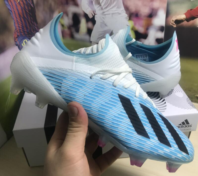 2019 mens soccer cleats X 19.1 FG soccer shoes messi football boots Nemeziz 19 outdoor Tacos de futbol X 19 high quality