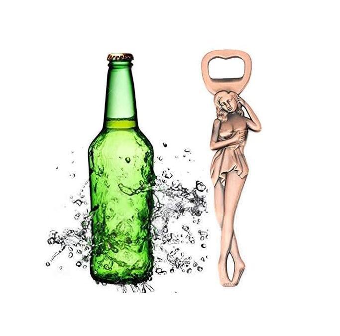 Apribottiglie Sexy bellezza Beer Bottle Opener in lega di zinco apri della birra Pretty Woman Forma Bar apri festa di nozze favore del regalo