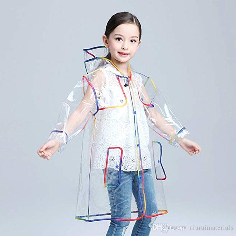 2021 Transparent Raincoat For Kids Boys Rain Jacket Rain Coat Hooded  Outdoors Clear Waterproof Kids Girls Toddler Childrens Raincoats Rainwear  From Niuruimaterials, $15.44   DHgate.Com