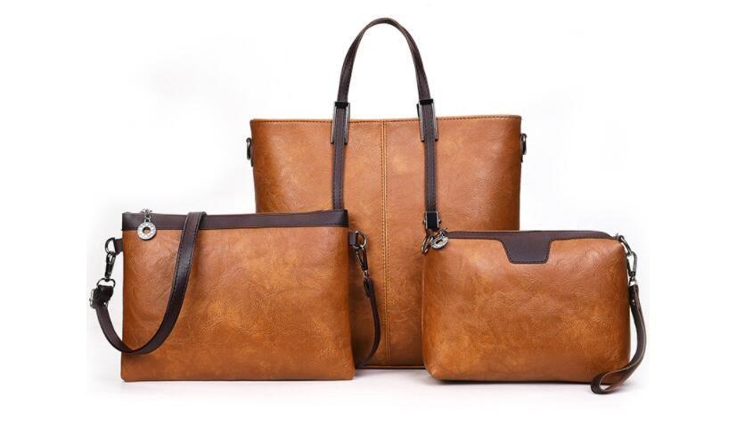 3-pièce fixe les femmes porte-monnaie de sac de créateur de mode crossbody bacs sac à bandoulière embrayage sacs Wälle