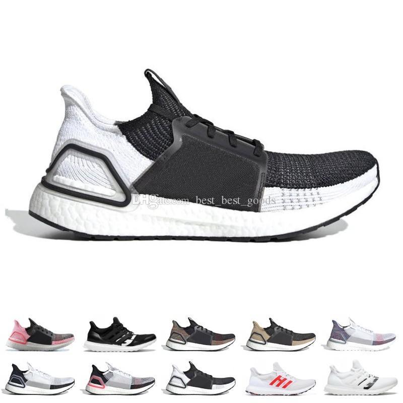 Zapatillas De Deporte Running Ultra Boost Ultraboost 19 De Mujer Para Mujer  Oreo REFRACT True Pink Para Hombre Entrenador De Tenis Transpirable ...