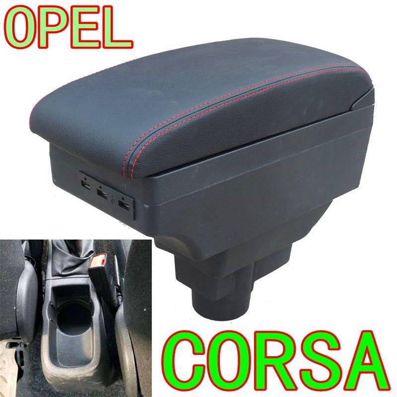 Vauxhall Corsa D Kolçak Kutu Universal Araç Merkez Kolçak Saklama Kutusu modifikasyon aksesuarları için