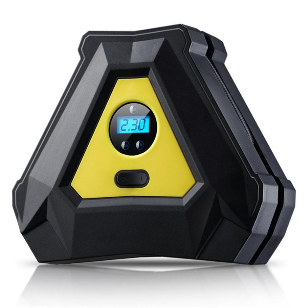 2019 New DC 12V Car Portable Air Compressor LED Pump Motorcycle Electric Car Tire Inflator Pump Accessories Tools