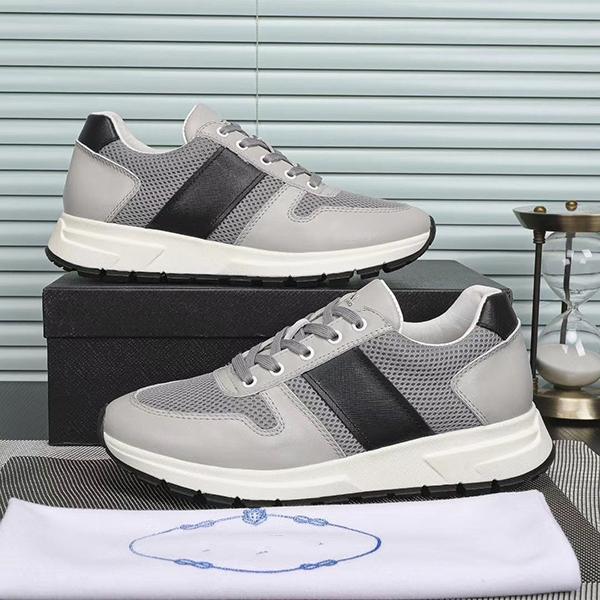 Prada Erkekler Siyah Spor Tennis için 2020 Sıcak Runer Ayakkabı Paris 17W Triple-S Sneaker Üçlü S Lüks baba Ayakkabı Ayakkabı MK01 Koşu
