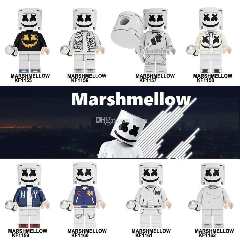 Cotton figure Heroes Infinity marshmallow War Guardians of Galaxy Avengers Movies & Video Game & Cartoon Blocks Toys Figures Blocks