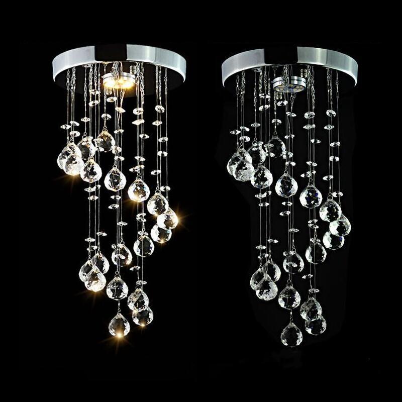 LED de cristal luzes do candelabro le'd lâmpada para Sala Cristal Luster Lustres Iluminação pingente pendurado luminárias de teto