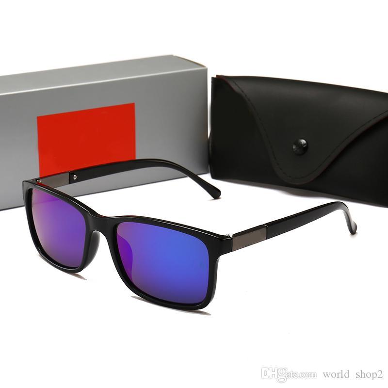 RayBan RB4208 Luxe avec des lunettes de soleil vintage full frame de boîtes originales pour les hommes et les femmes Vente chaude plaqué or Top wor