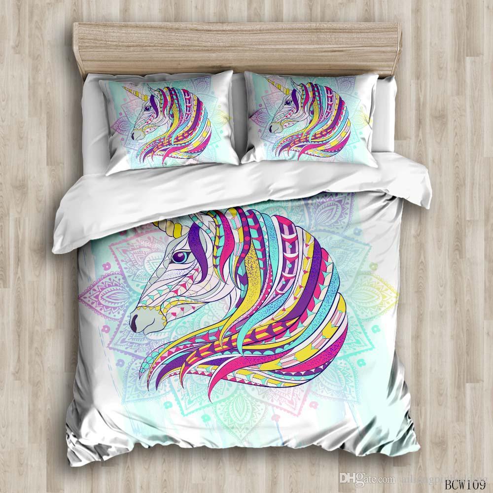 Красочные и красочные комплекты постельного белья на заказ постельное белье комплекты постельного белья Наволочки король размер постельное белье одеяло охватывает
