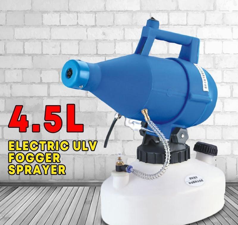 4.5L portátil ULV elétrica nebulizador Capacidade pulverizador Inseticida desinfecção e Epidemia Prevenção Névoa embalagem aerossol pulverizador