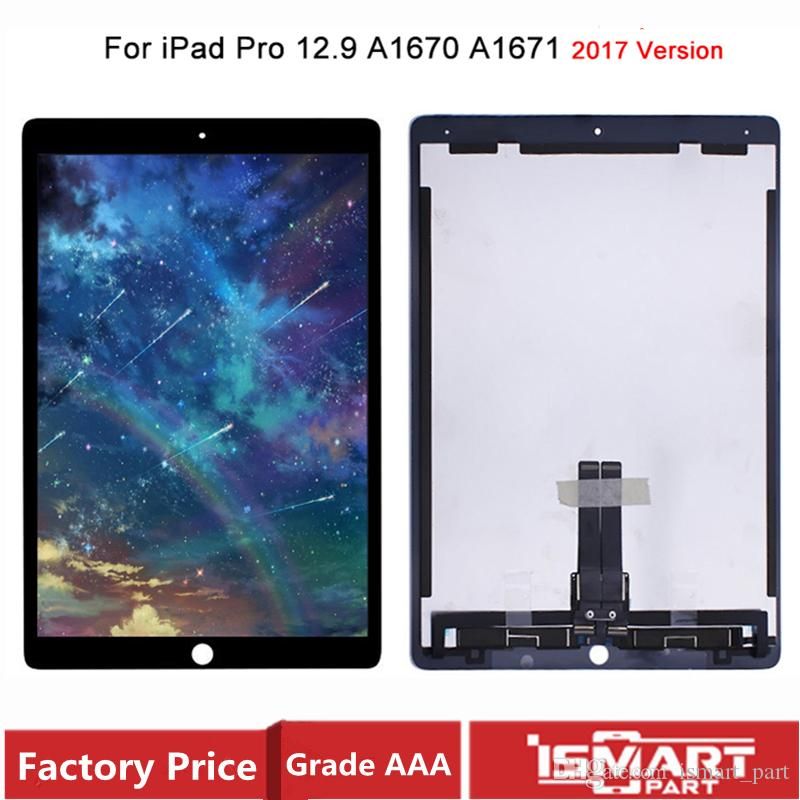 OEM For iPad Pro 12.9 2017 2nd gen A1670 A1671 LCD Display Touch Screen Digitizer Panel Assembly With Small Board