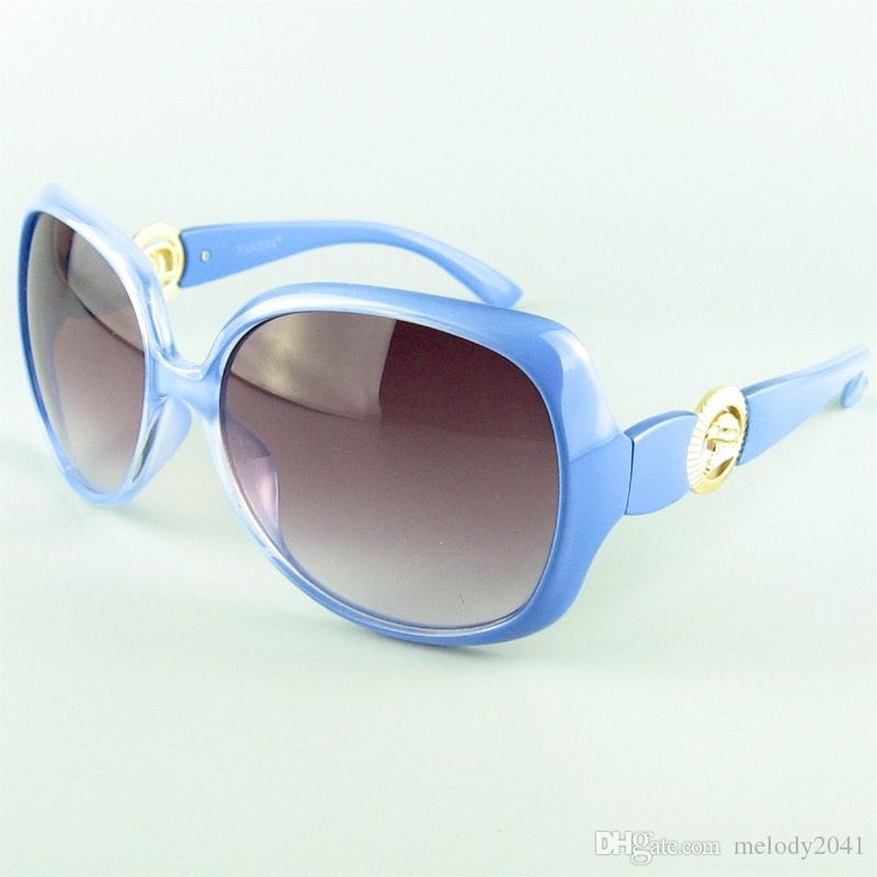 Vintage Big Designer Sunglasses For Women Good Quality Metal Eagle 7 Colors Round Frame Sun Glasses UV400