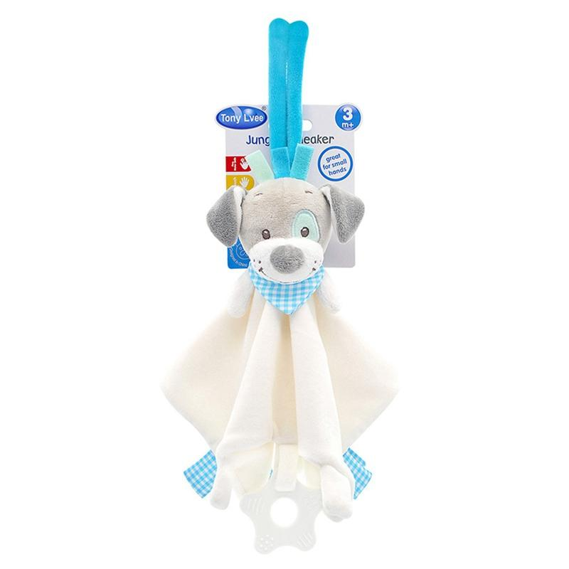 Doll Toy Baby Animal giocattoli morbidi peluche infantile Appease asciugamani Grasping Sonagli Playmates Toys Calm