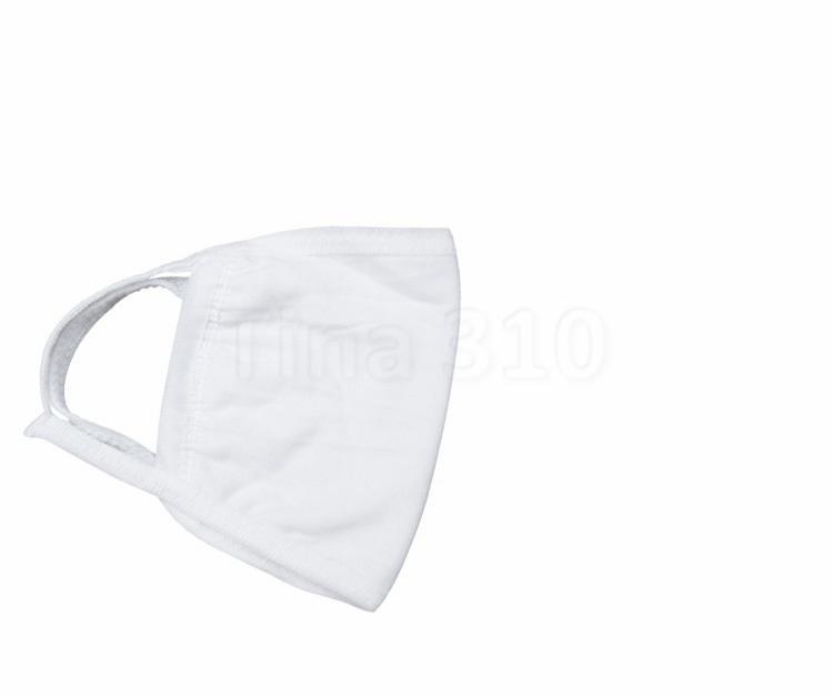 Бытовые три слоя хлопок белых маски для лица, пылезащитные, хлопчатобумажная ткань маска, дышащее, ВС доказательства, и дымка доказательство Дизайнер Маски 6059