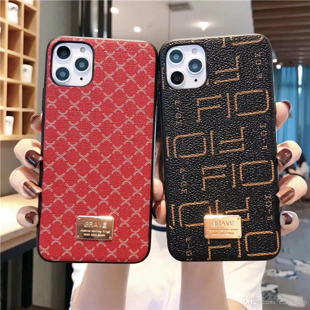 luxo designer caso tampa do telefone para o iPhone 6 6s 7 8 8plus para iphone x xr xs máximo para iphone 11 11 pro 11 pro Max