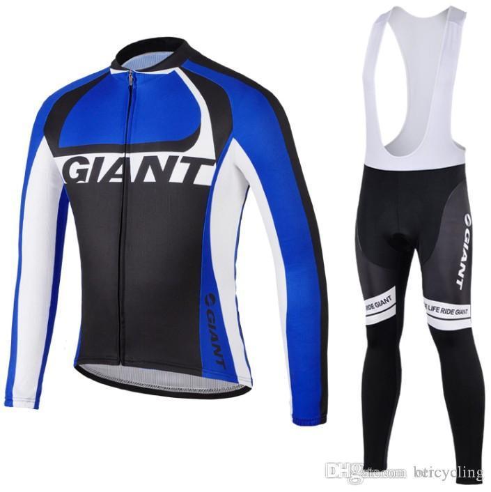 2018 Vente chaude Cyclisme Jersey manches longues Pantalons Cyclisme Cyclisme Kits Dragonne Ciclismo bicicletas Sports VTT Wear B18100501