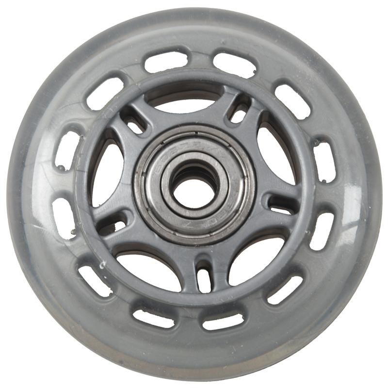 Skating Shoes 608ZZ Bearing Inline Skate Wheel Clear Gray