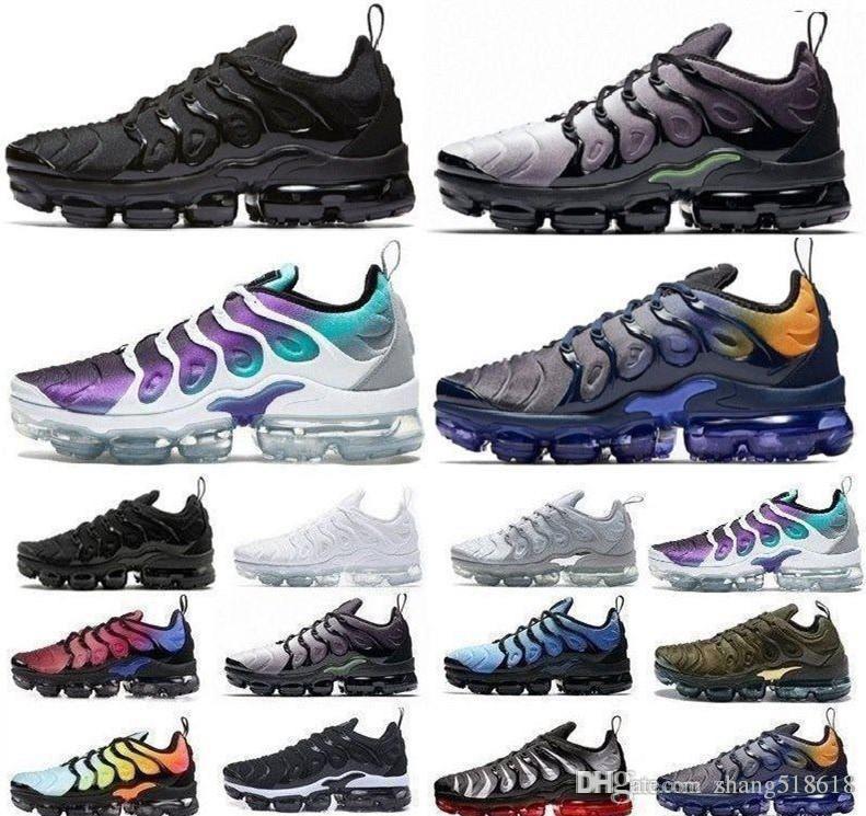 2020 2019 yeni mans moda minder ayakkabı Sneakers TN Artı Nefes Tasarımcılar Koşu Ayakkabı boyutu 36-45 ücretsiz kargo
