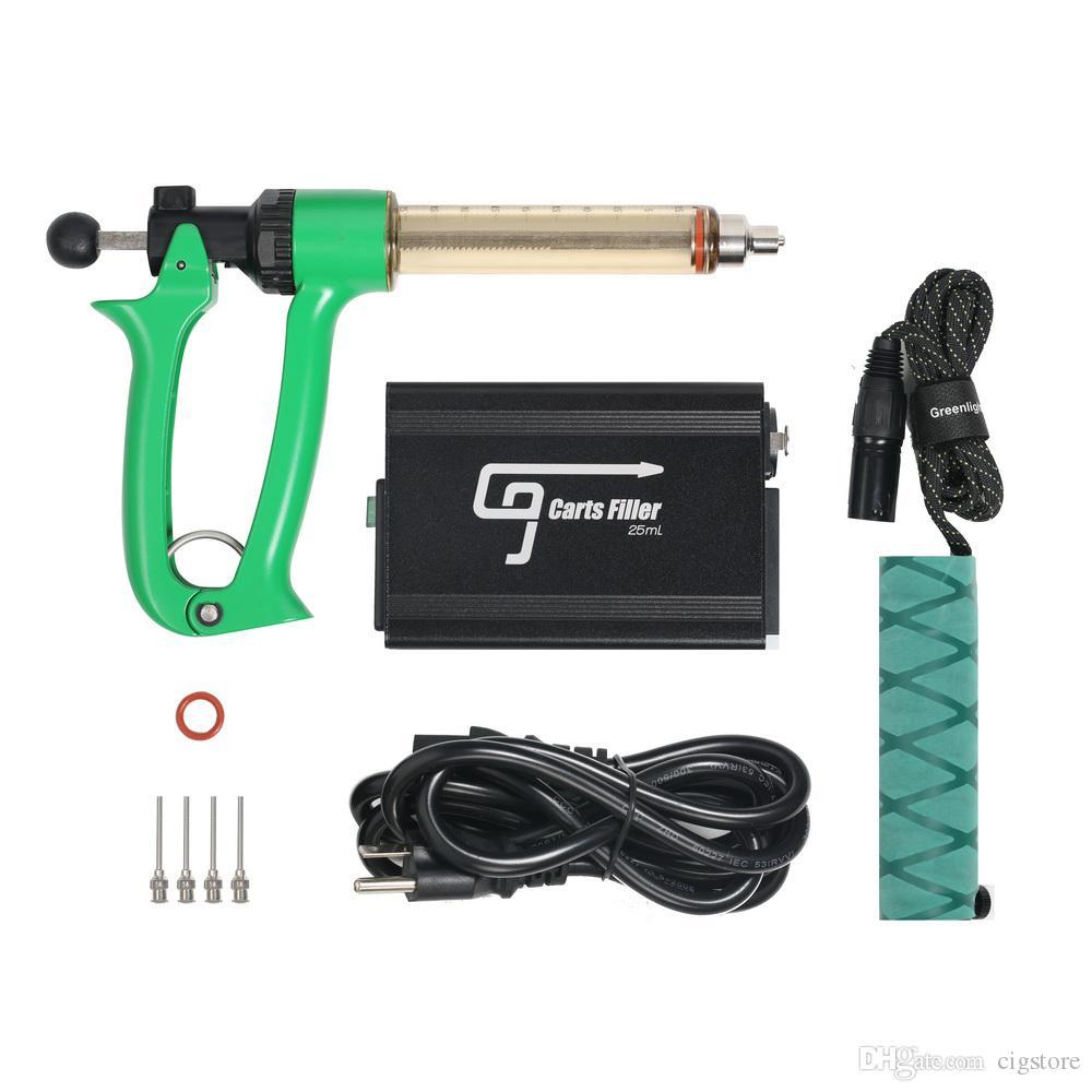 G9 semi-automatique Vape huile atomiseur de remplissage Machine Gun Injection 510 vape Pen 0,5 ml 1,0 ml TH2 M6T cartouche de remplissage Seringue