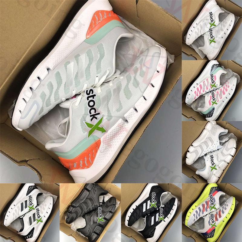 Adidas caldo Con la scatola Climacool Vento piattaforma uomini donne scarpe da ginnastica Triple Nero Segnale Bianco Ciano segnale verde Shock Rosa mens scarpe sportive corridore