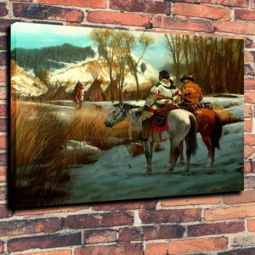Açık Tuval Wall Art Canvas Resimler 191.104 Boyama Haberciler Ev Dekorasyonu El Sanatları / HD Baskı Yağ