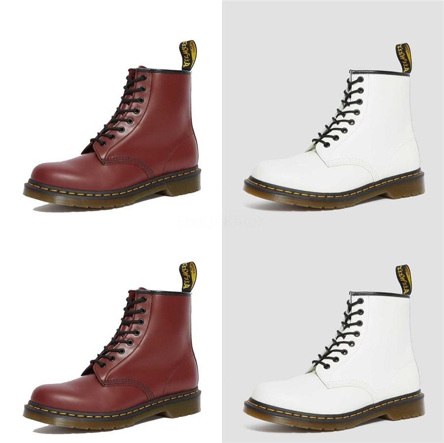 2020 осень и зима Новые короткие сапоги Trend Толстые С Высокие каблуки молнии Большой размер Мартин сапоги Размер 35 - 42 # 967