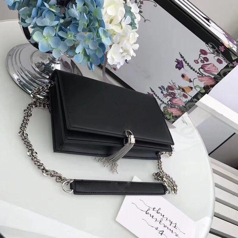 Дизайнер-кожа оболочки цепи сумка сумка моды горячий кошелек кожаный кошелек Женские кошельки