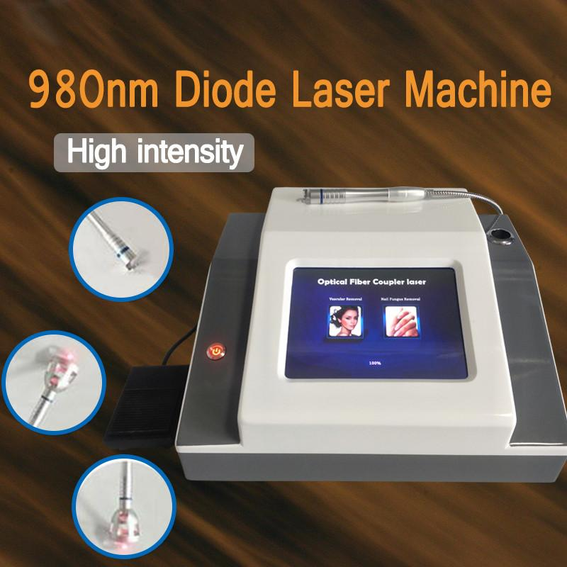 Best Price 980nm Diode Laser for Spider Vein Removal / Laser Vascular Removal Machine / Capillaries Removal Beauty Equipment