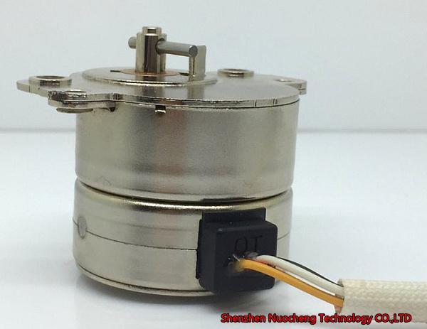 새로운 금속 기어 35mm 스테핑 모터 12V 0.3A 프린터 및 의료 기기 용 18degree 정밀 스테퍼 모터 ~