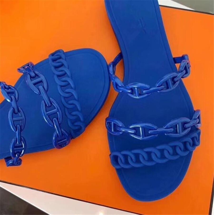2020 Belle Heel Pantofole estate femminile sexy Word fibbia selvatici trasparente Tacchi alti Piccolo fresco Cat scarpe tacco alto Women # 966